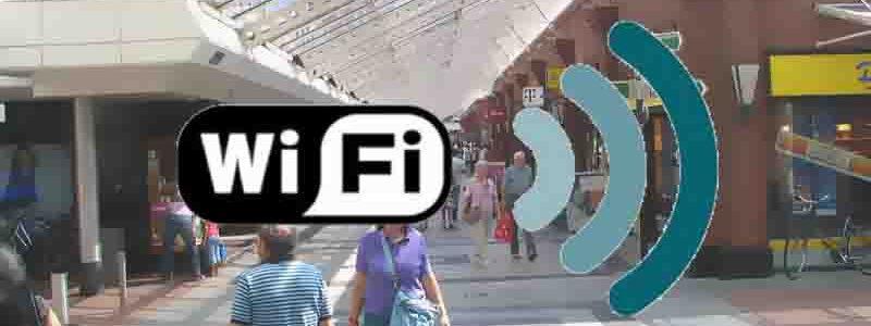 Gratis WiFi in de binnenstad
