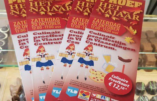 Culinair Proeffestijn. Koop uw proefkaart!